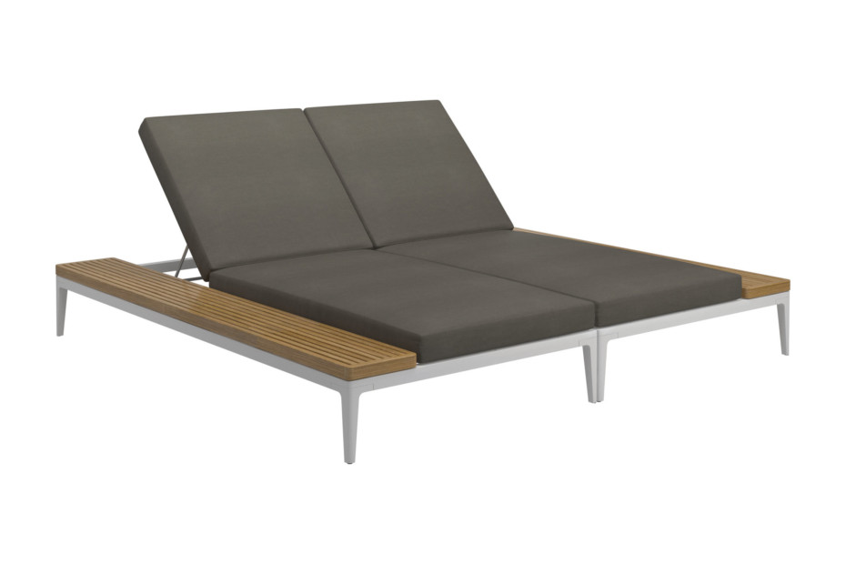 Grid Double Lounger Unit