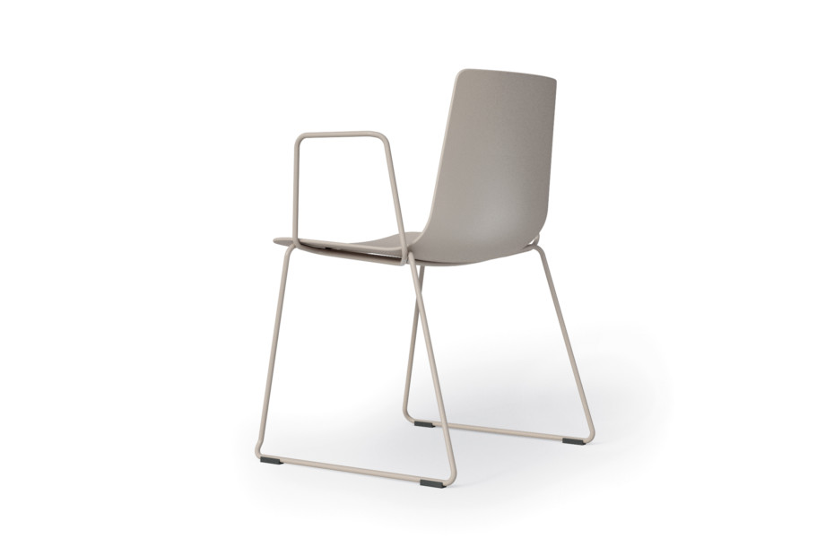 slim chair sledge arm