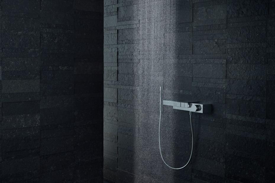 Axor Edge Thermostat für 3 Verbraucher für Auf-/Unterputzinstallation  - Diamantschliff