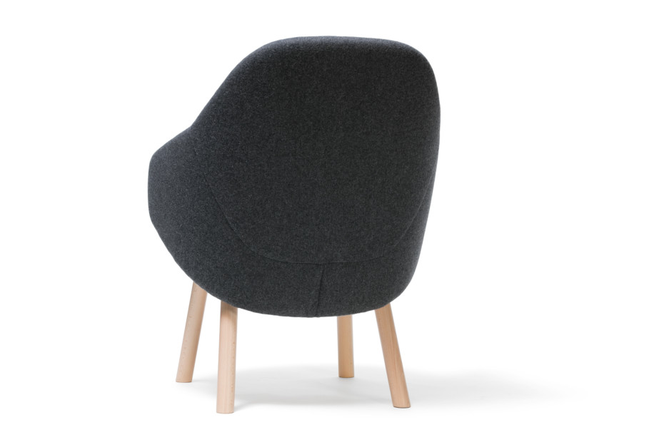 Alba lounge armchair