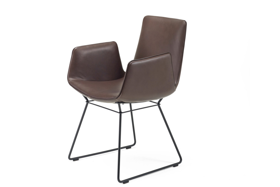 Amelie Armchair mit Drahtgestell