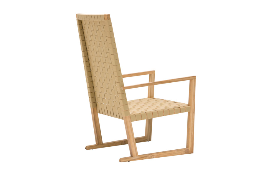 Serena armchair high