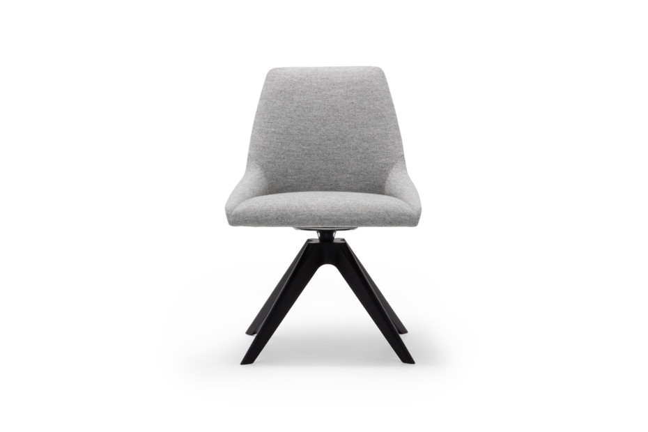Alya chair wooden swivel base