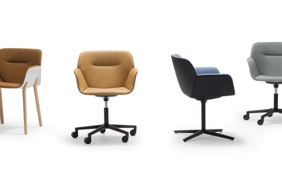 Nuez Chair wooden base