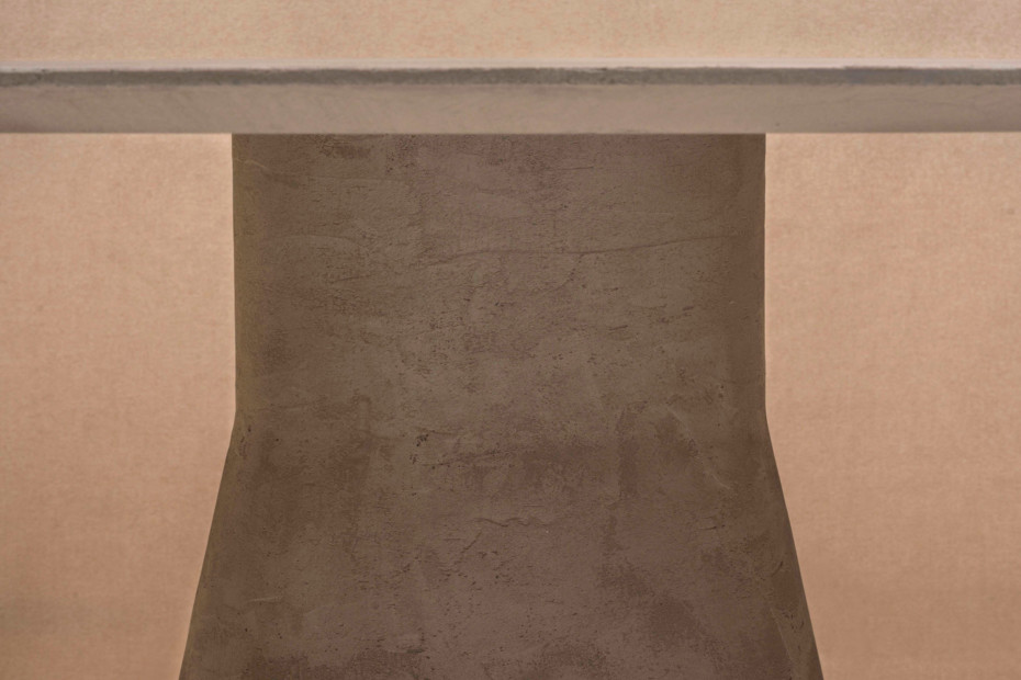 Reverse Conference Lounge Table cement