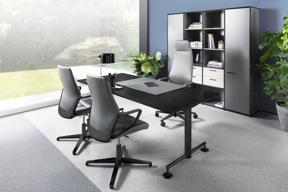 M1-Desk MSM4-ESCH black edition