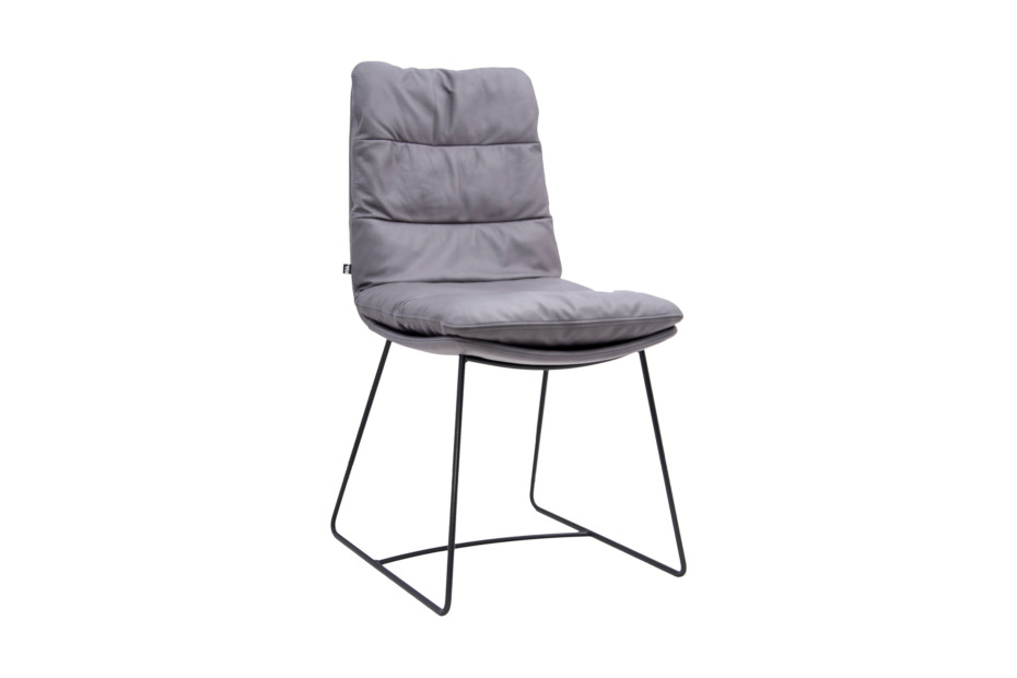 Arva chair with skids