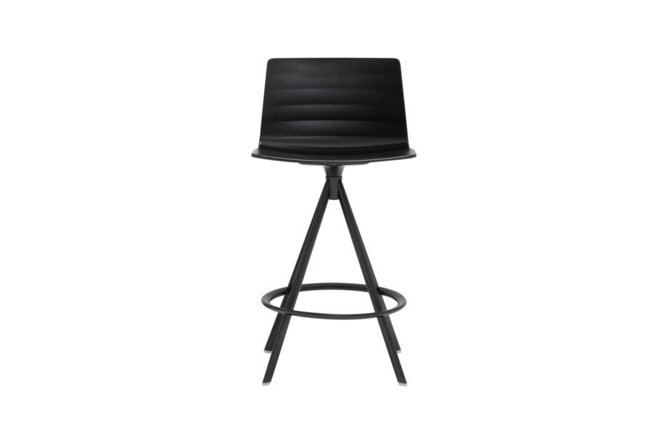 Flex stool with swivel base