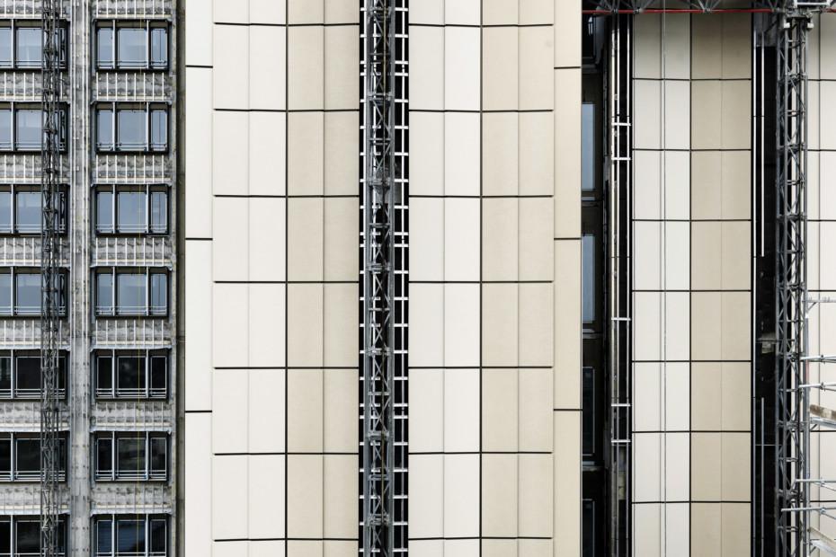 concrete skin, BayWa Hochhaus München