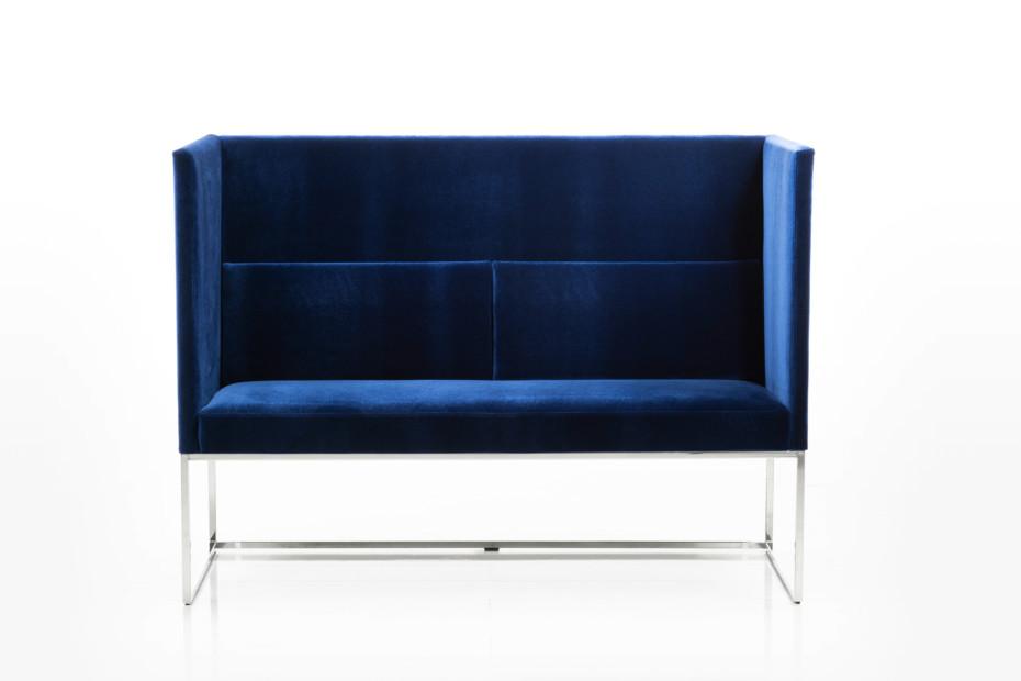 Belami bench with high backrest