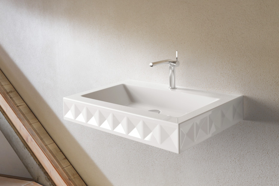 BETTELOFT ORNAMENT Wall mounted washbasin