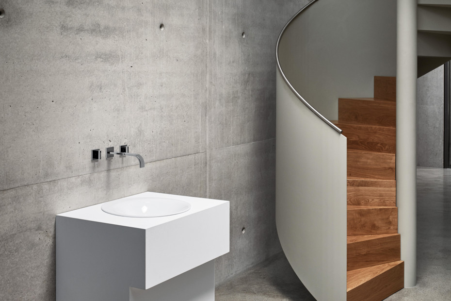 BETTELUX OVAL Built-in washbasin