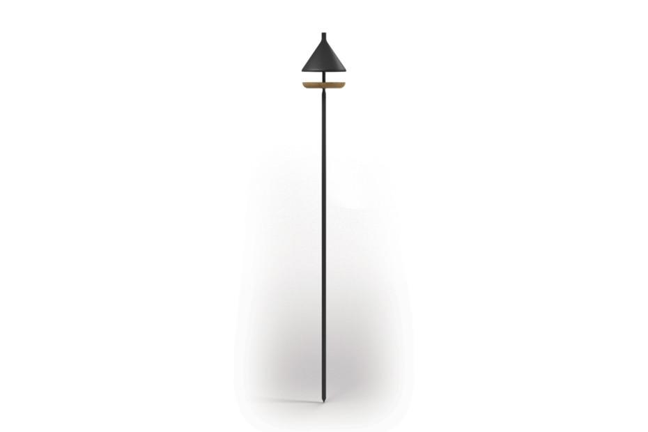 Maya Pole Mounted Bird Feeder