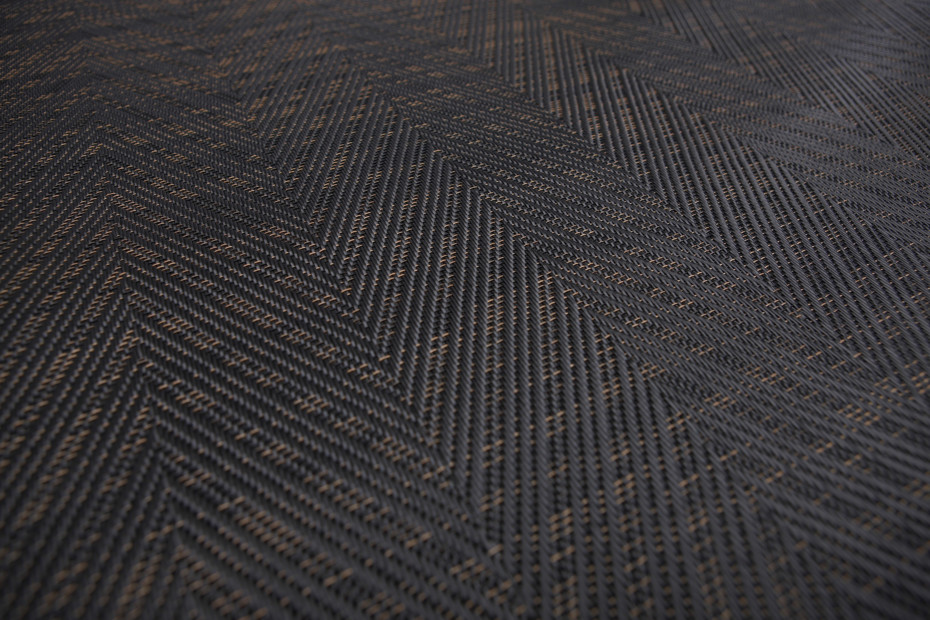 Graphic Herringbone Black