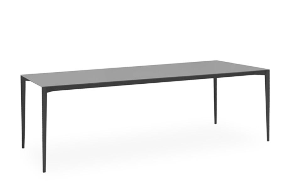 Nude rectangular dining table C134