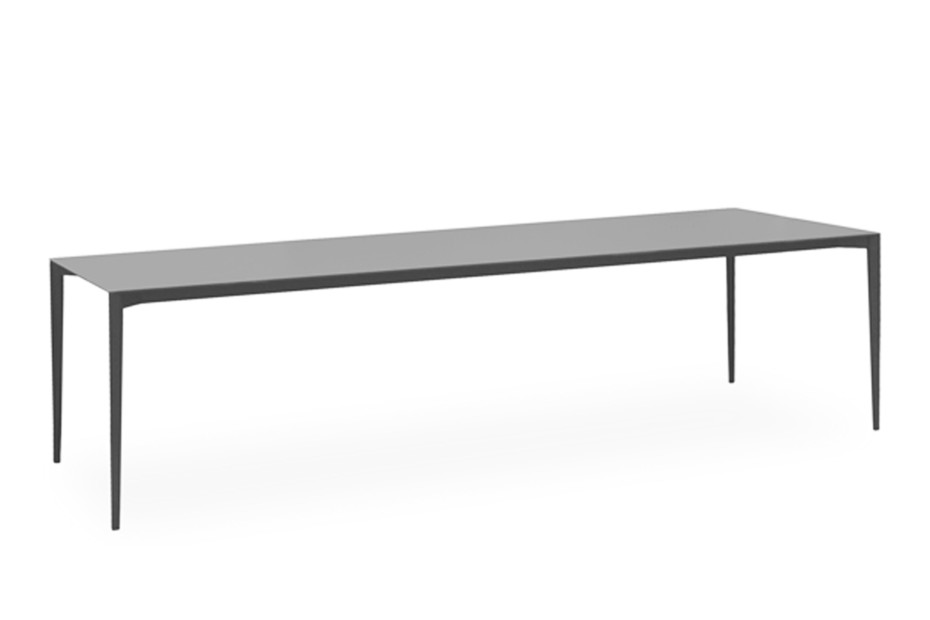 Nude rectangular dining table C135