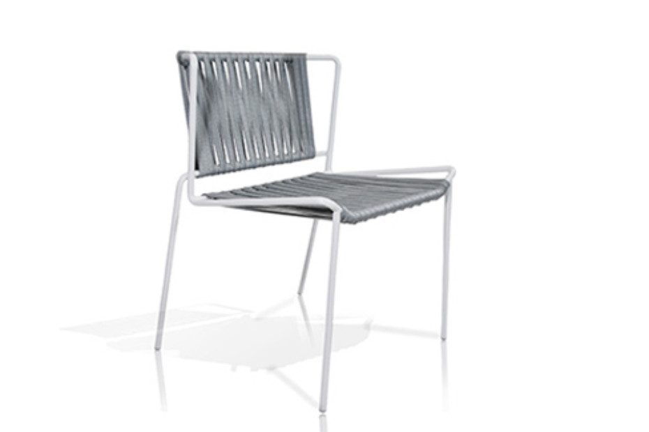 Out_Line Stuhl mit Polyesterseil C556T