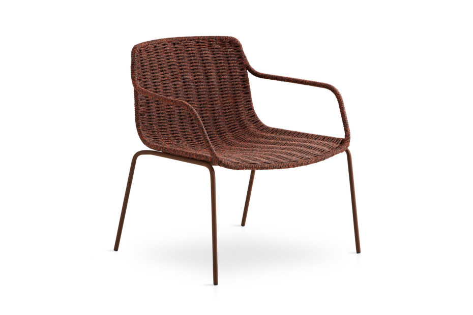 Lapala hand-woven low armchair C591 T