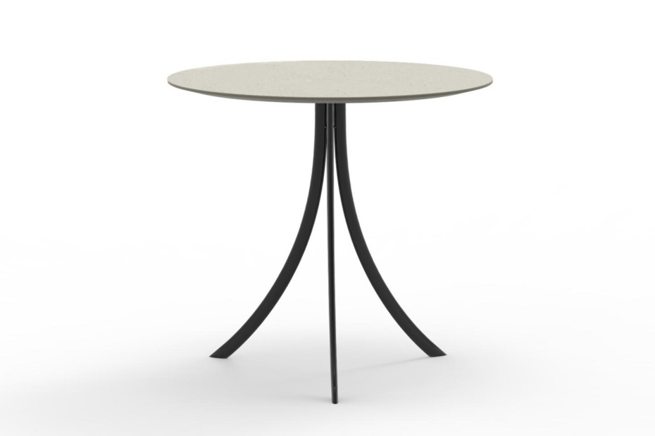 Bistro Outdoor dining table stand with round top C903 R