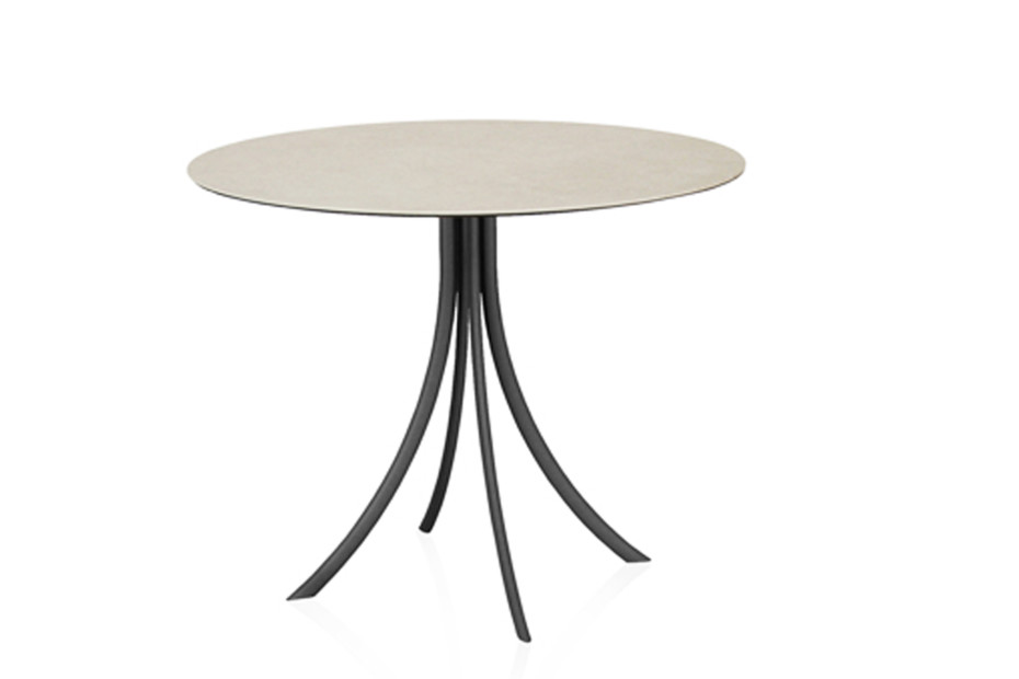 Bistro Outdoor dining table stand with round top C904 R