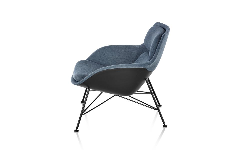 Striad Lounge Chair and Ottoman