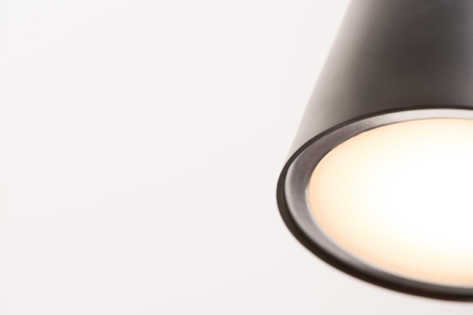 Chaplin suspension lamp