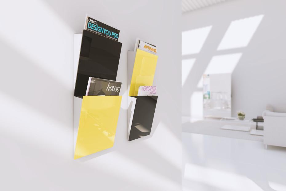 CHAT BOARD® Magazine Rack