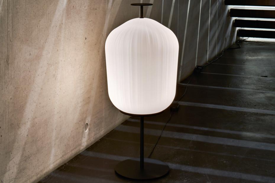 Plissée Floor Lamp