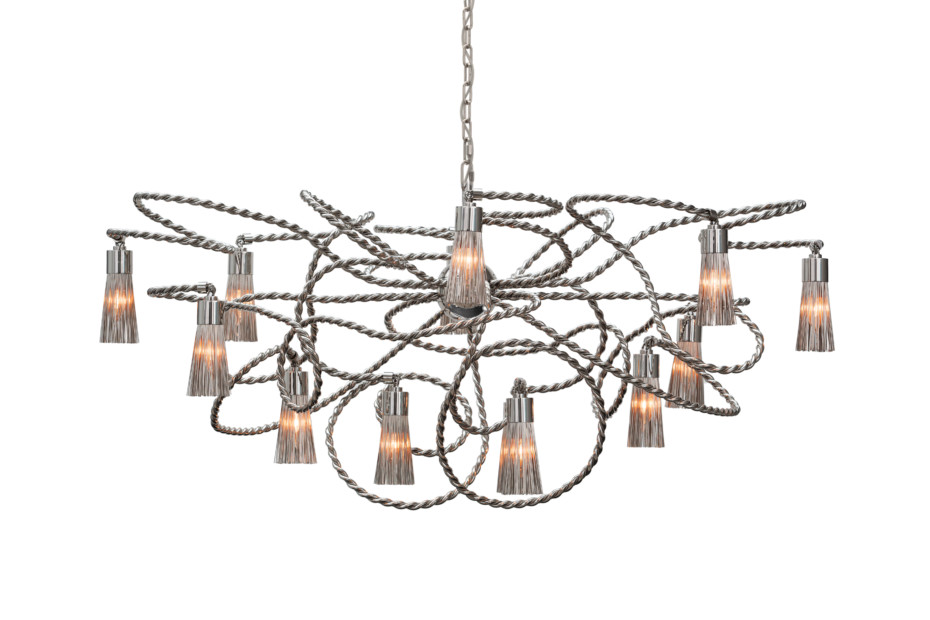 Sultans Of Swing Chandelier oval