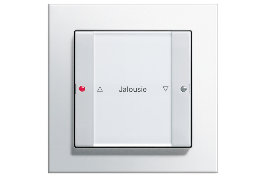 E2 push button sensor 3, 1-gang