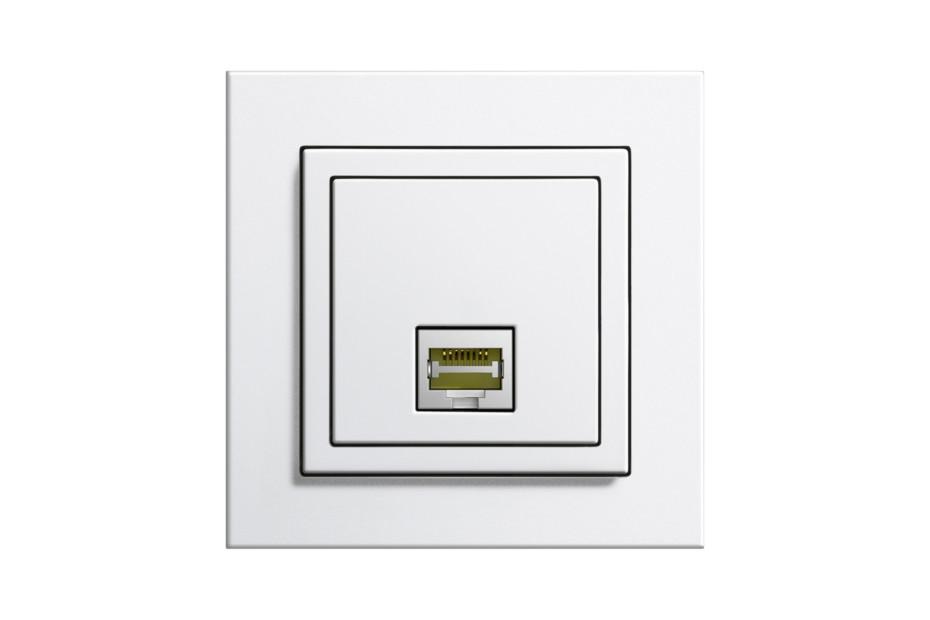 E2 telephone / network socket