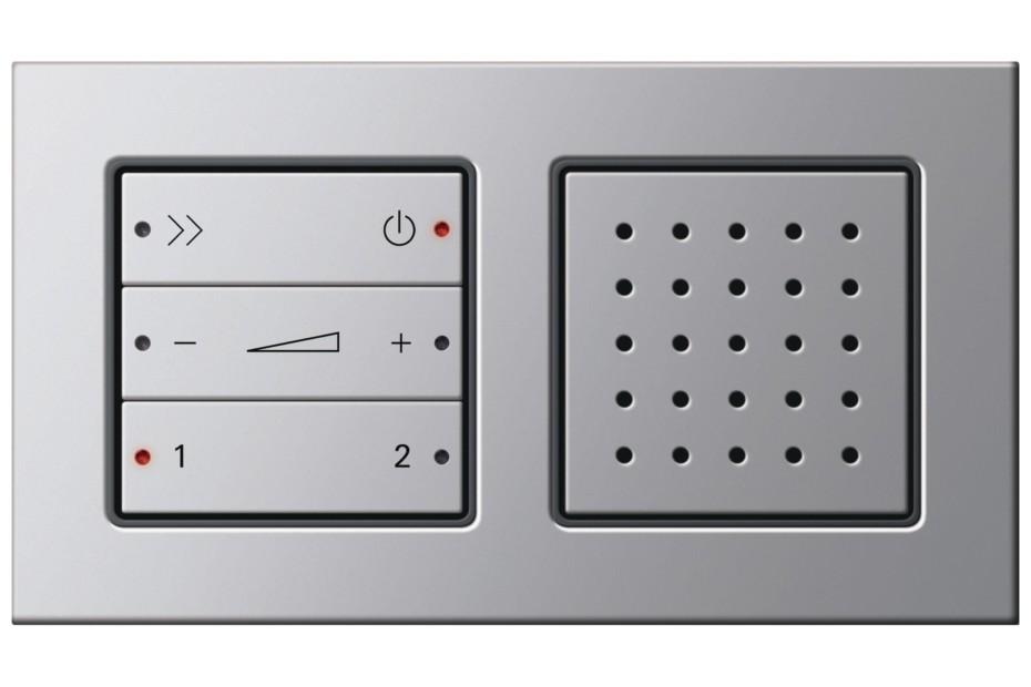 E22 RDS flush-mounted radio