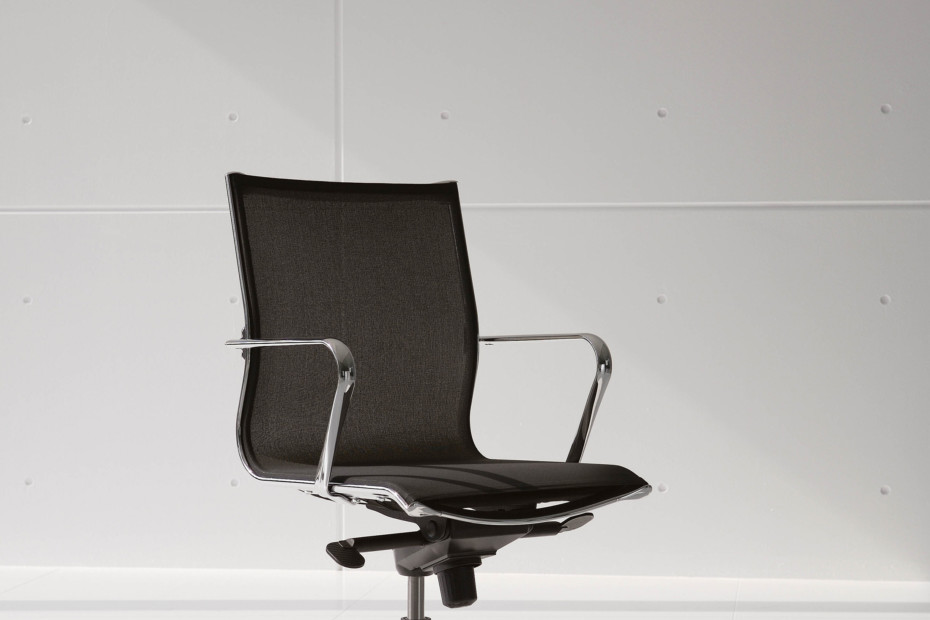 Elle Executive swivel chair with arm rest