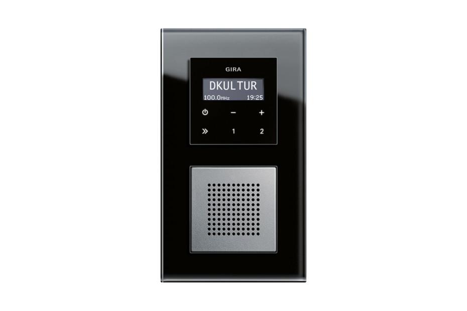 Esprit RDS flush-mounted radio