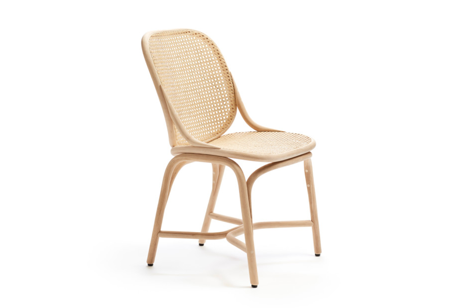 Frames Dining chair with rattan legs T040 R