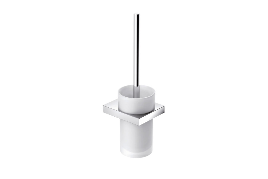 Toilet brush unit finish - chrome