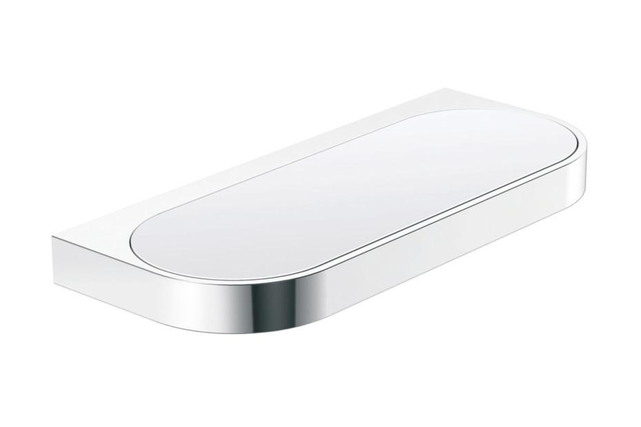 Utility dish finish - chrome