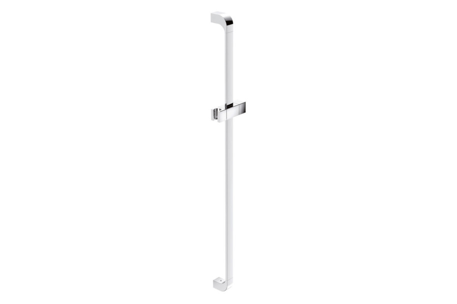 Rail with shower head holder chrome, c to c 900 mm