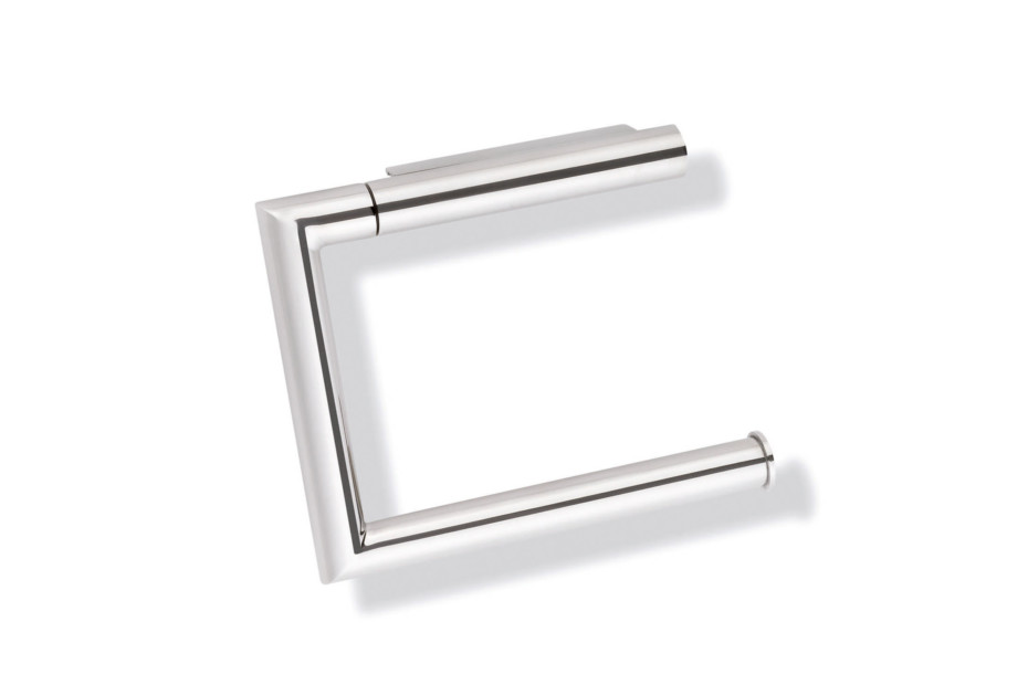 Toilet roll holder finish - chrome