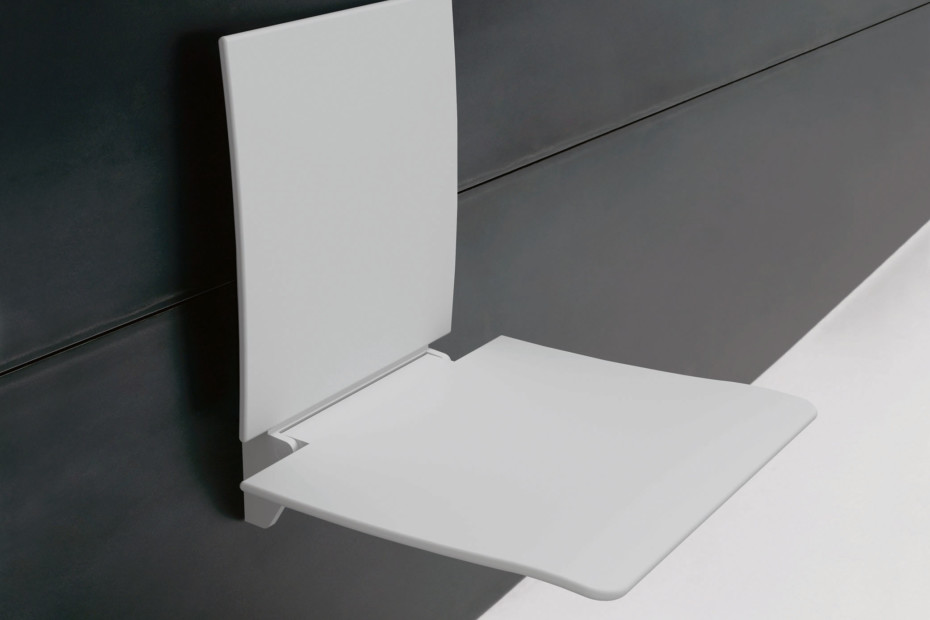 Removable hanging seat Seat and back rest white