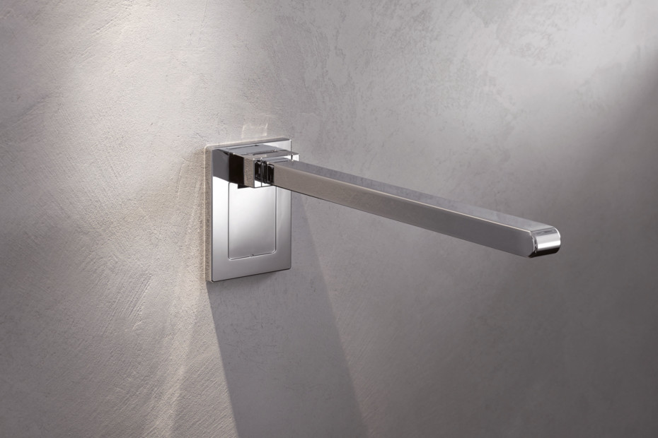 Mobile hinged support rail Mono 600 mm projection