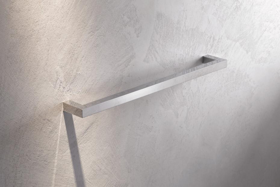 Bath towel rail finish - chrome