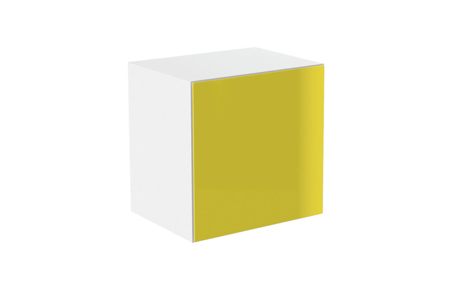 Basic module glass front yellow