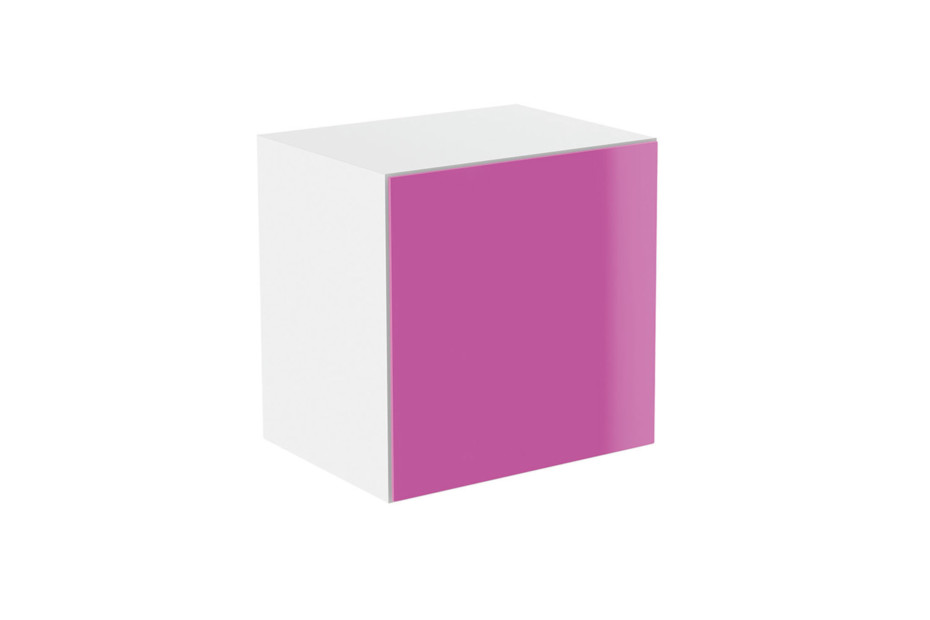 Basic module glass front pink