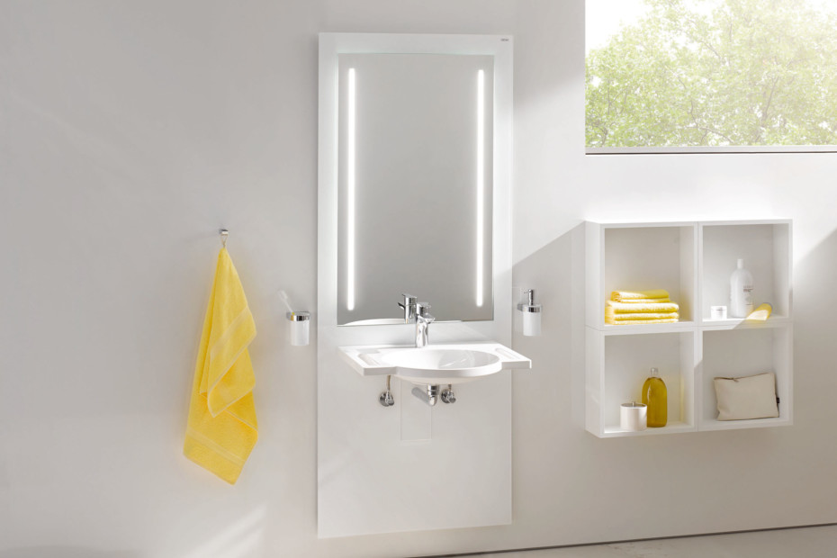 Washbasin module White, washbasin 950.11.101, LED