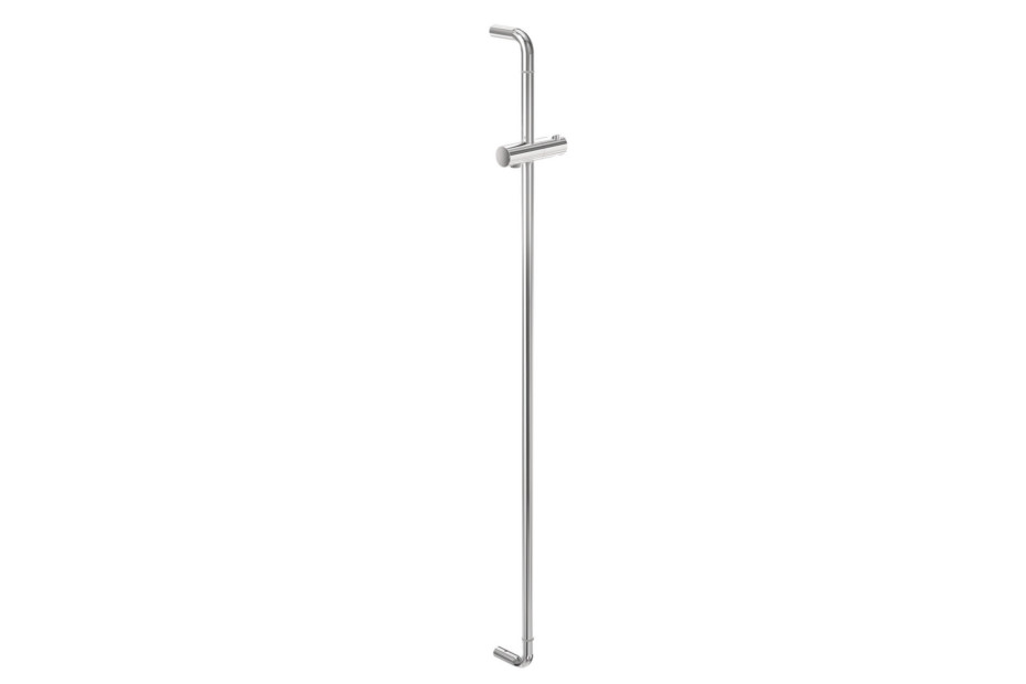 Rail with shower head holder
