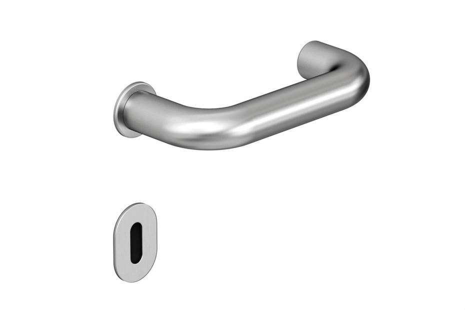 Standard door fitting satin