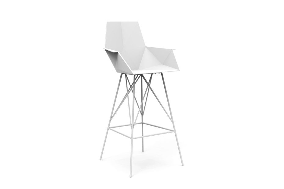 FAZ stool with armrests