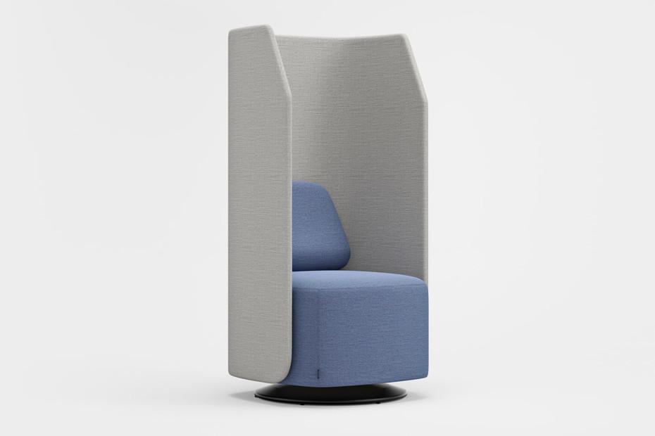 Fields Sessel/Sofa mit hoher Rückenlehne
