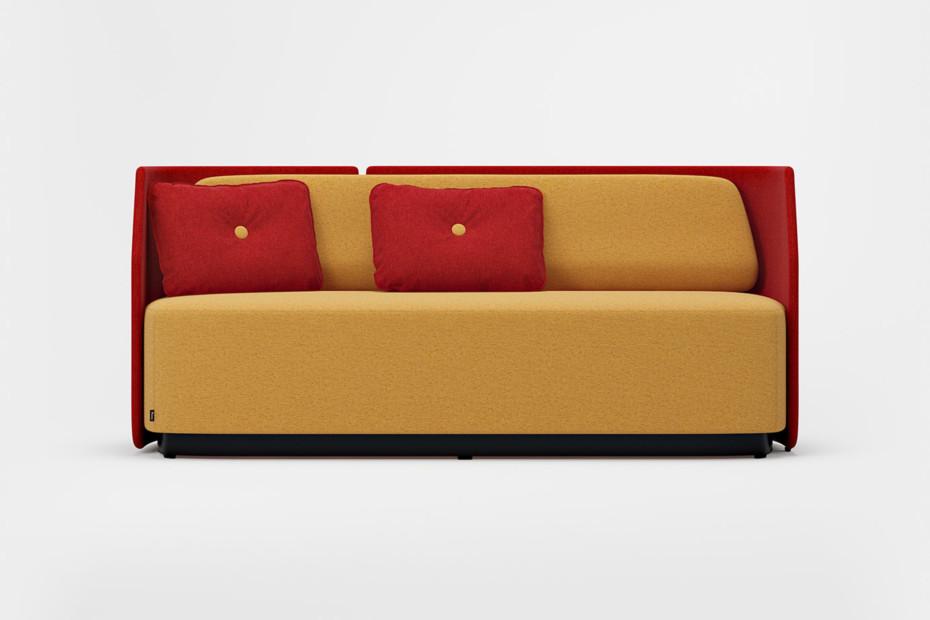 Fields Sessel/Sofa mit niedriger Rückenlehne